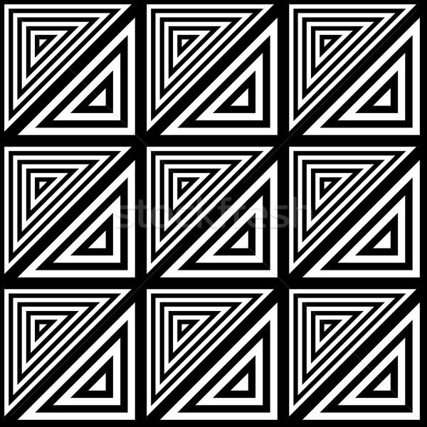 Noir vecteur modernes triangle Photo stock © blumer1979