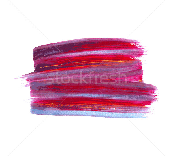 Colorful vector watercolor paint stain isolated Stock photo © blumer1979