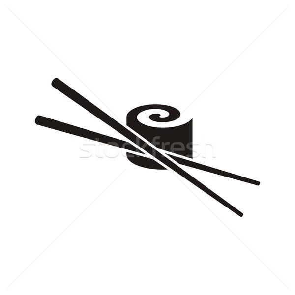 Sushi icon Stock photo © blumer1979
