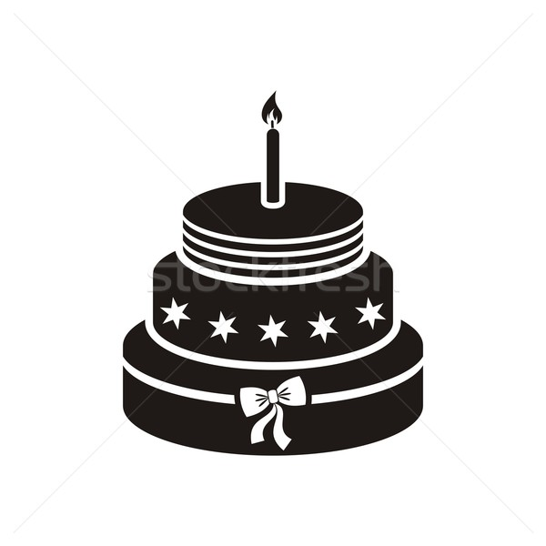 Birthday Cake Vector Illustration C David Benes Blumer1979 5378687 Stockfresh