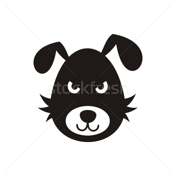 Bad dog icon Stock photo © blumer1979