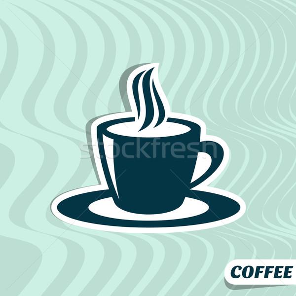 Coffee menu card Stock photo © blumer1979