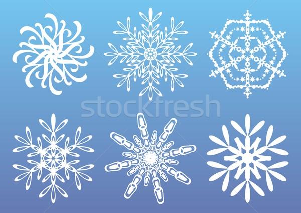 Snowflakes Stock photo © blumer1979