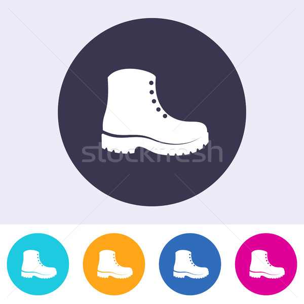 Protective footwear must be worn icon Stock photo © blumer1979