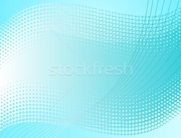 Halftone background Stock photo © blumer1979