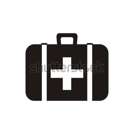 First aid icon vector illustration © David Benes (blumer1979