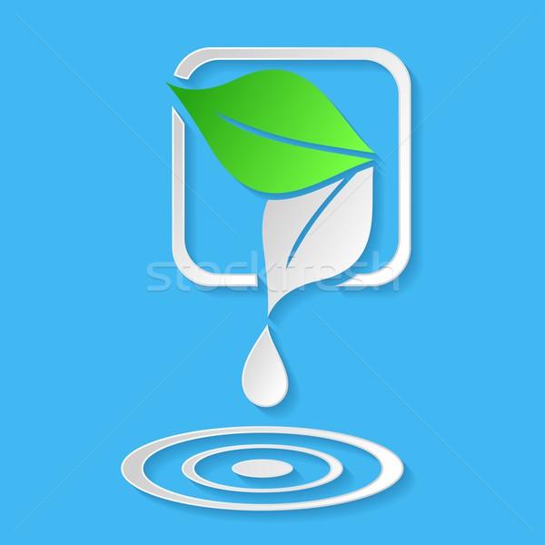商業照片: 一滴水 · 葉 · 抽象 · 生態 · 水