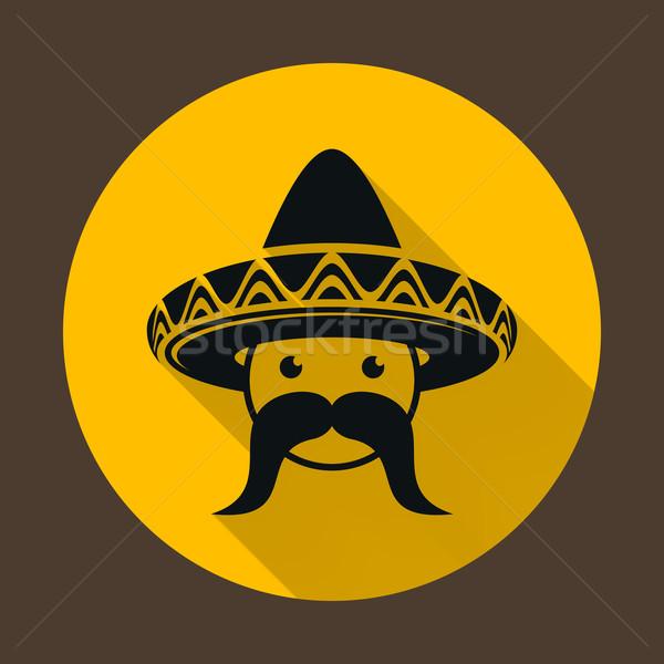 Mexican with sombrero Stock photo © blumer1979