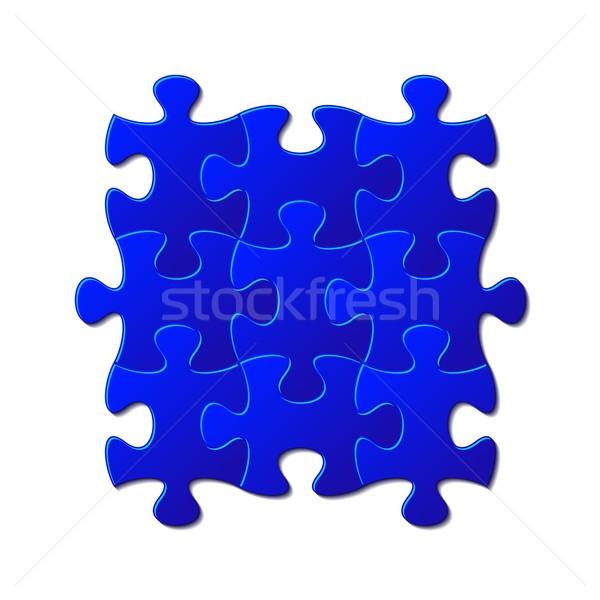 Jigsaw puzzle Stock photo © blumer1979