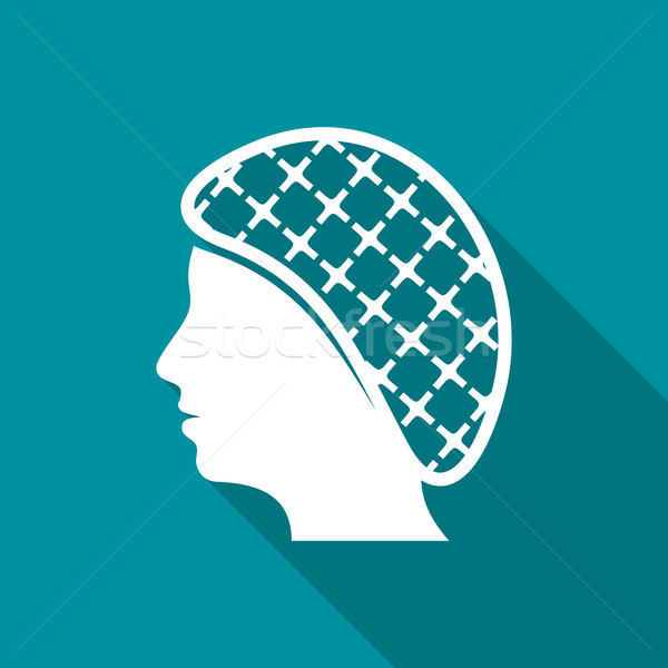Hairnets must be worn flat icon Stock photo © blumer1979