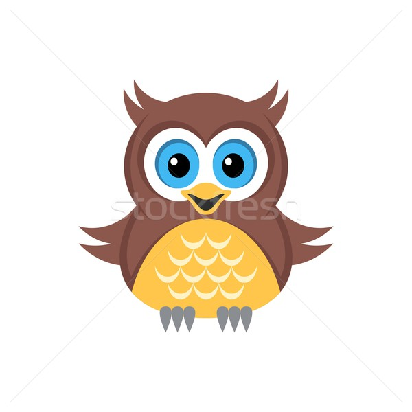Colorful owl Stock photo © blumer1979