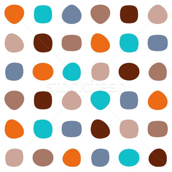 Colorido vector resumen textura moda Foto stock © blumer1979
