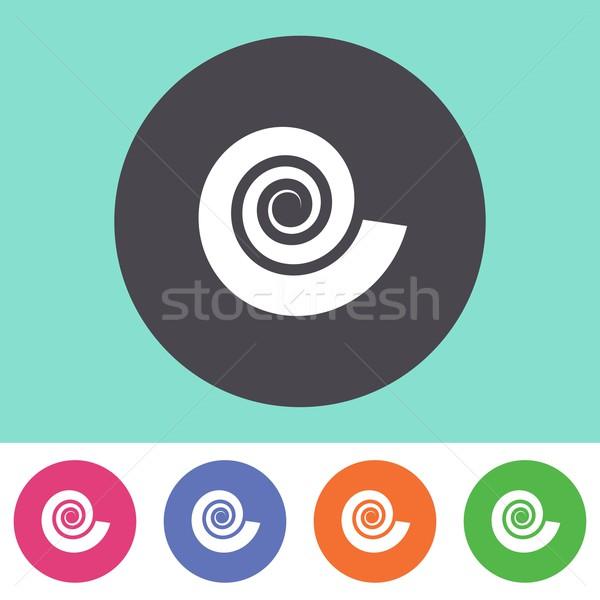 Spiral icon Stock photo © blumer1979