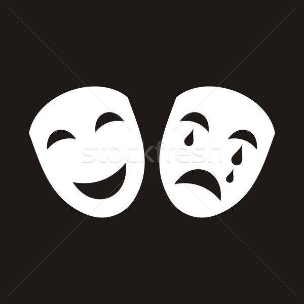 Theatrical masks Stock photo © blumer1979