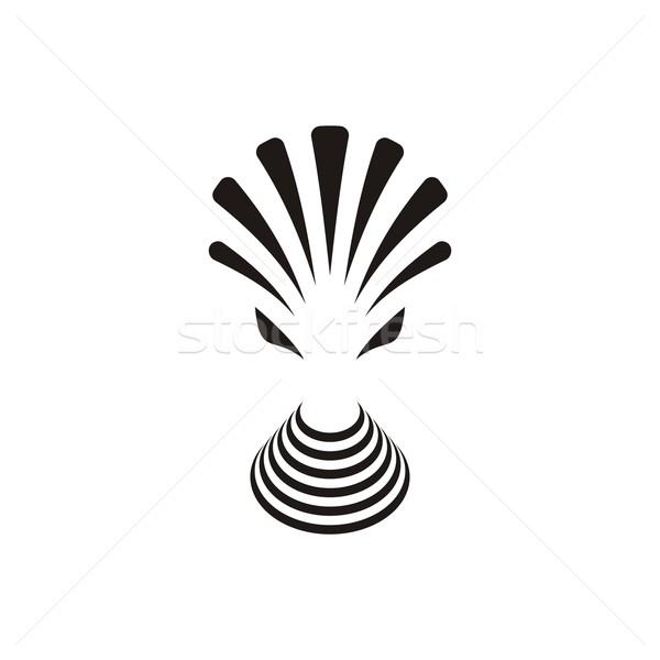 чужеродные тварь вектора икона простой аннотация Сток-фото © blumer1979