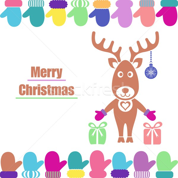 Christmas card Stock photo © blumer1979
