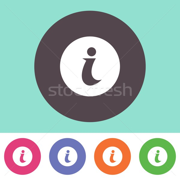 Info icon Stock photo © blumer1979