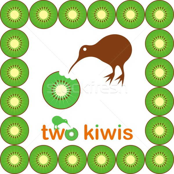 Kiwi bird Stock photo © blumer1979