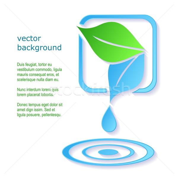 商業照片: 一滴水 · 葉 · 抽象 · 向量 · 水 · 樹