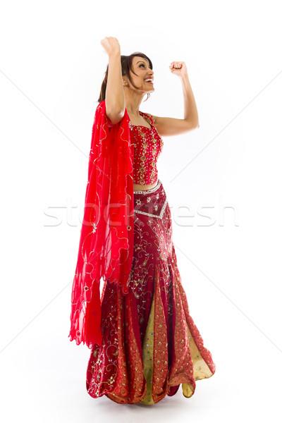 Сток-фото: молодые · индийской · женщину · успех · взрослый