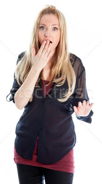 Séduisant blond 30 années vieux fille Photo stock © bmonteny
