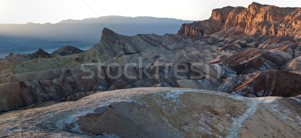 Manly Beacon, Zabriskie Point, Death Valley National Park, Calif Stock photo © bmonteny