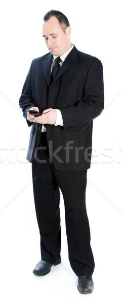 Caucasian businessman 40 years old Stock photo © bmonteny
