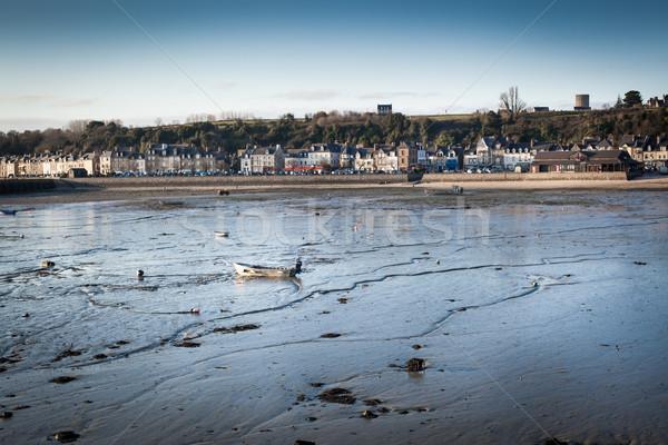 Ville bord de l'eau plage nature Voyage architecture Photo stock © bmonteny