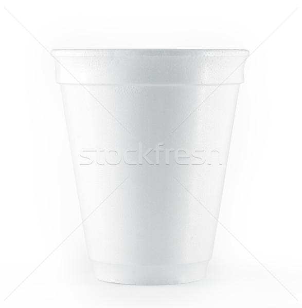 使い捨て 白 カップ 孤立した ストックフォト © bmonteny