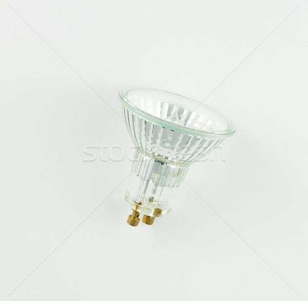 Foto stock: Halogênio · isolado · branco