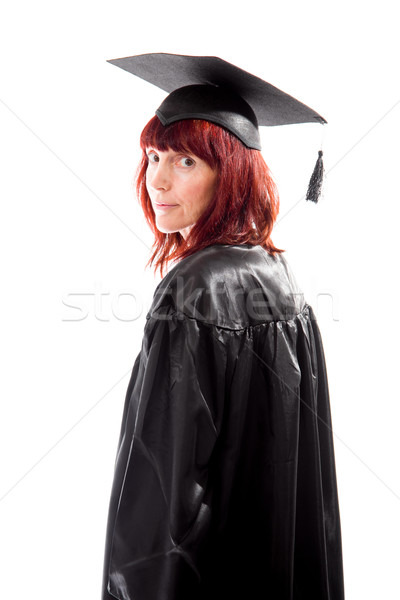 Portrait of a mature student Stock photo © bmonteny