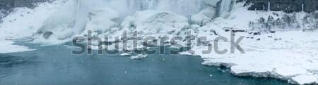 Arch bridge across a river, Horseshoe Falls, Niagara River, Niag Stock photo © bmonteny