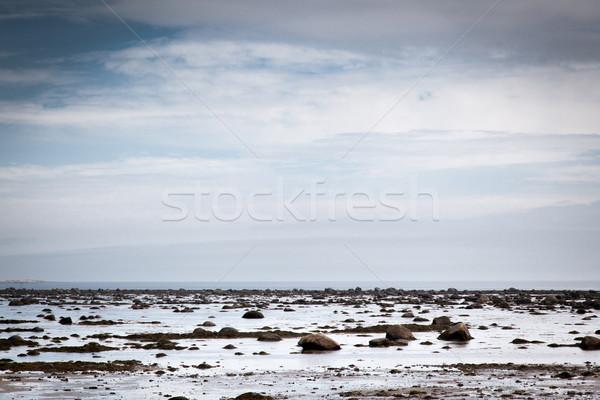 Rivier Quebec Canada hemel natuur landschap Stockfoto © bmonteny