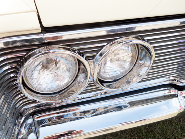 Phare voiture verre métal Voyage Photo stock © bmonteny