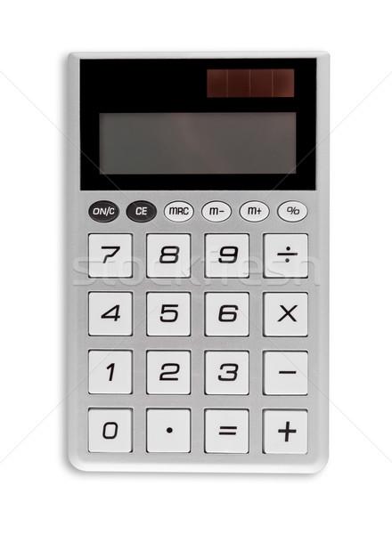 калькулятор изолированный белый Сток-фото © bmonteny