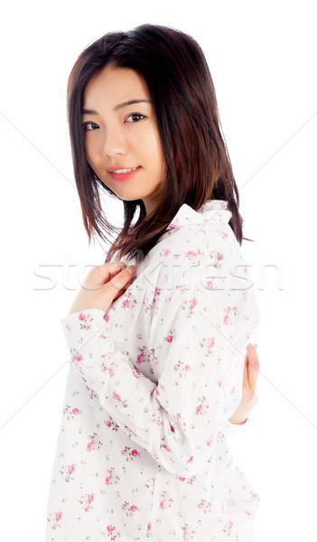 привлекательный азиатских девушки 20 лет старые Сток-фото © bmonteny