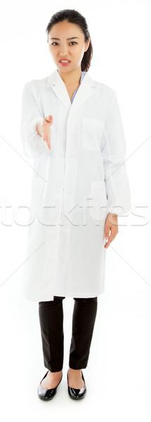çekici Asya kız 20 yıl eski Stok fotoğraf © bmonteny