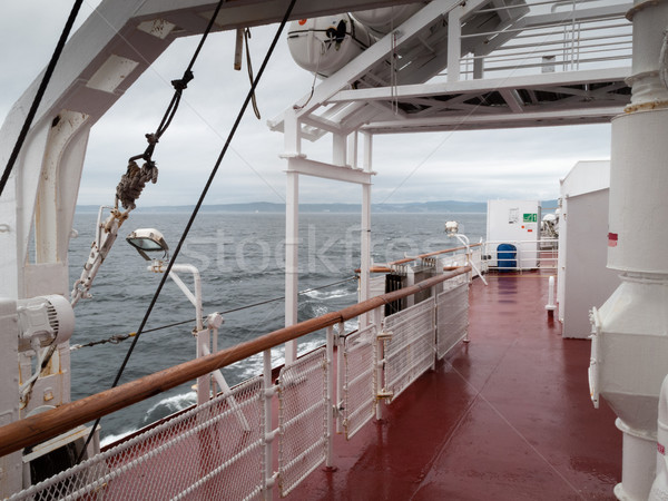 Zee pont Quebec Canada natuur reizen Stockfoto © bmonteny