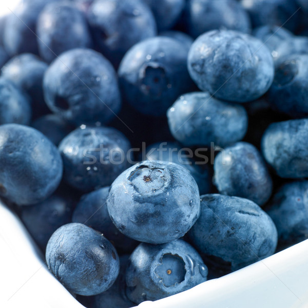 Blueberries for sale at a market stall Stock photo © bmonteny