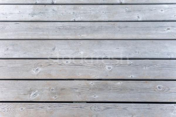 Close-up of a pier, Tobermory, Ontario, Canada Stock photo © bmonteny