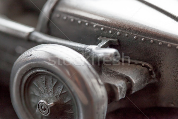 Close-up of a racing toy car Stock photo © bmonteny