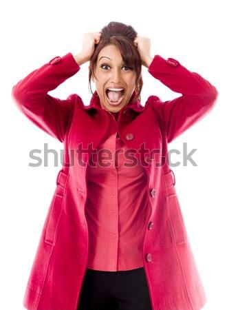 Indian jeune femme déception adulte femme Photo stock © bmonteny