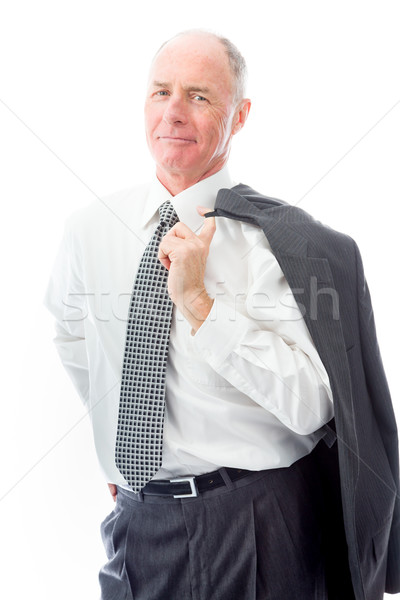 Portrait of a businessman smiling Stock photo © bmonteny