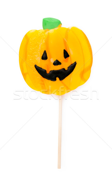 halloween lollipop isolated on a white background Stock photo © bmonteny