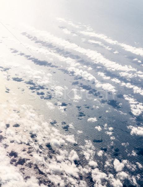 Légifelvétel tenger Kanada víz természet hátterek Stock fotó © bmonteny