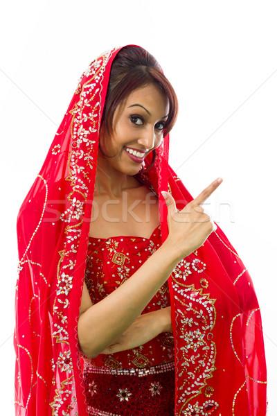 Jonge indian vrouw volwassen Stockfoto © bmonteny