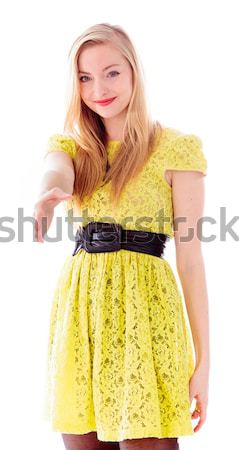 Young woman shivering Stock photo © bmonteny