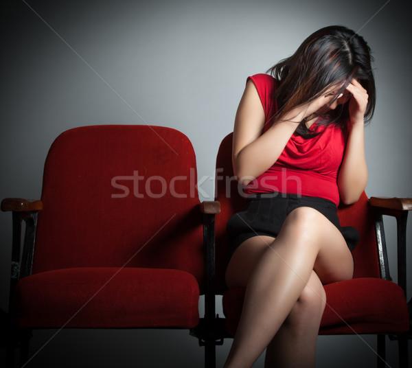 魅力的な アジア 少女 20歳代 劇場 ストックフォト © bmonteny