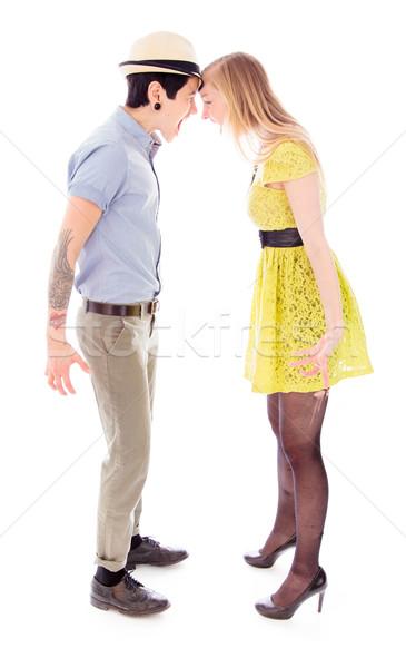 лесбиянок пару другой связи насилия Сток-фото © bmonteny