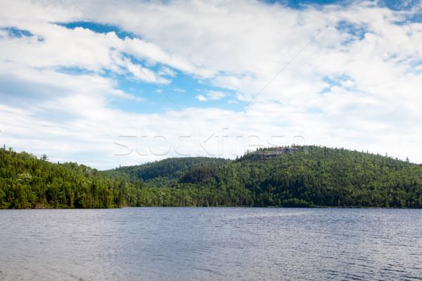 Aziz nehir Quebec Kanada su doğa Stok fotoğraf © bmonteny